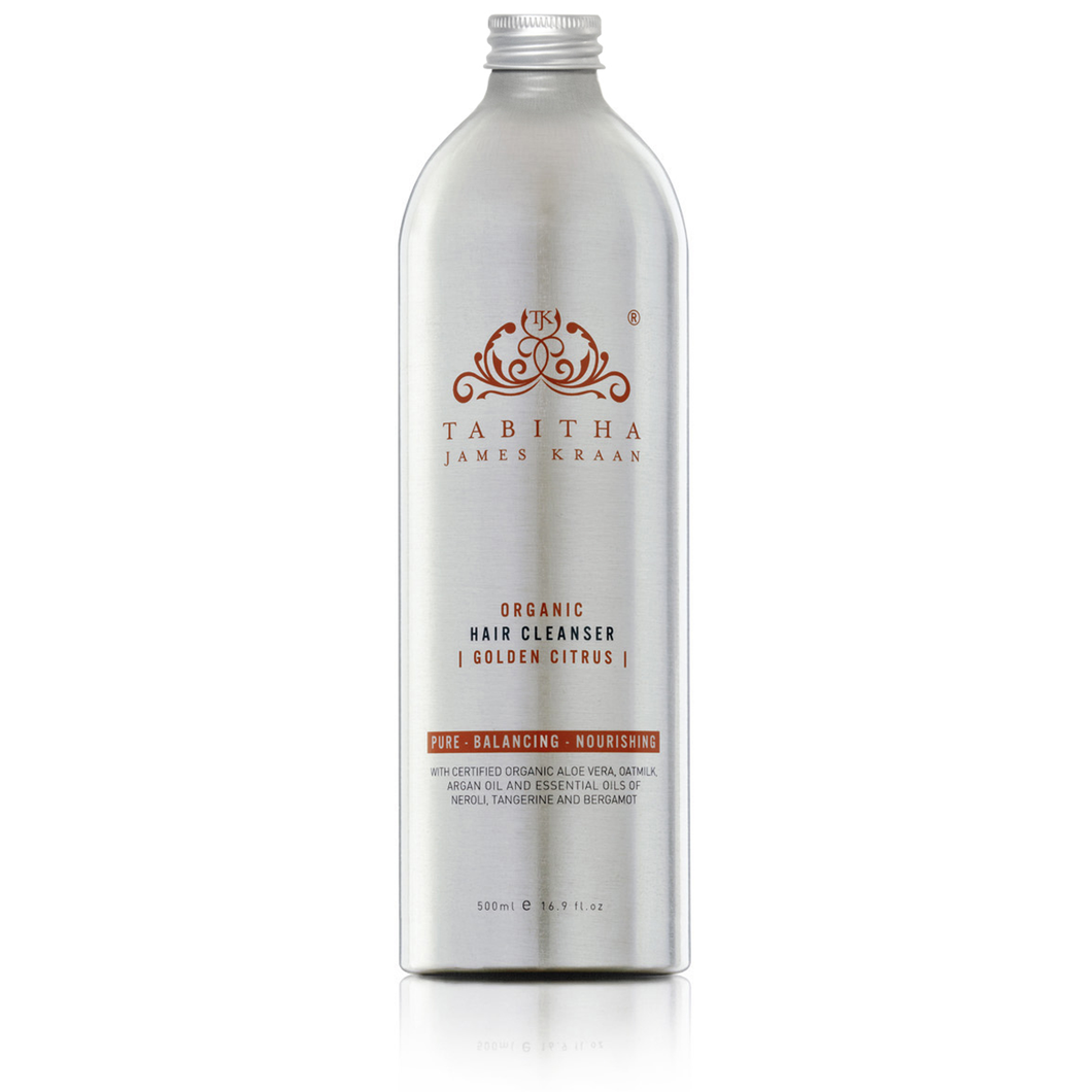 Refill Hair Cleanser Aromatherapy Scented With Our Signature Golden Citrus Scent