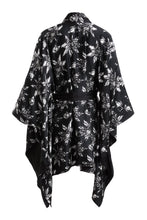 Load image into Gallery viewer, Organic Peace Silk Kimono Gown in Mid-length