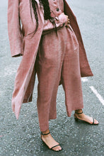 Load image into Gallery viewer, The Serra Boiler Suit in Ruby Red