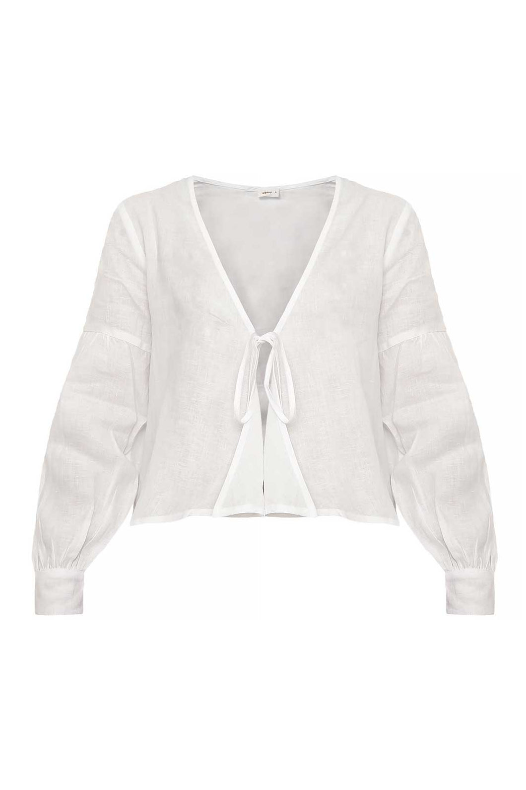 The Anna Blouse in White