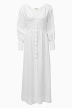Load image into Gallery viewer, The Gertrude Dress in White