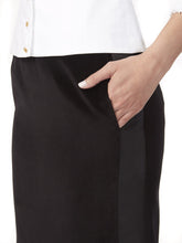 Load image into Gallery viewer, S046C_BULB_Side-Panel Velvet Skirt