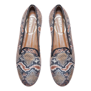 Rieti Brown Slipper
