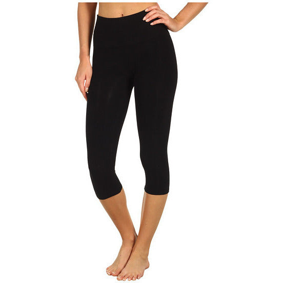 Black Crop Leggings