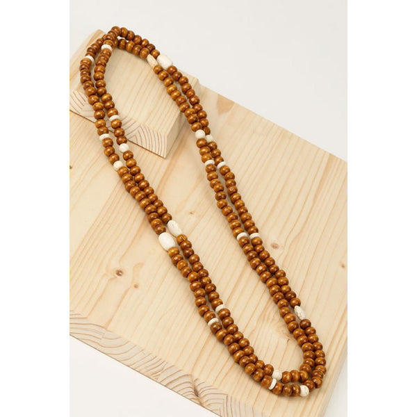 Multi Layered LONG Bead Necklace