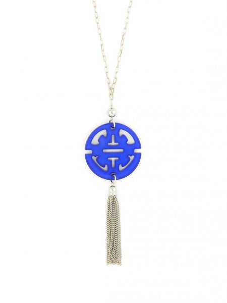 Travel Tassel Pendent Necklace