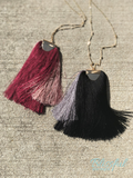 Thick Tassel Pendant Necklace