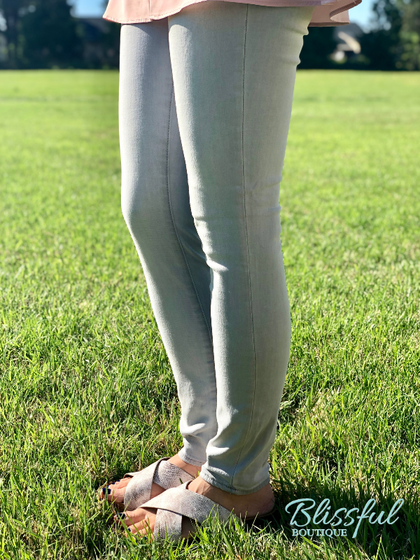 Light Grey Skinny Jeans