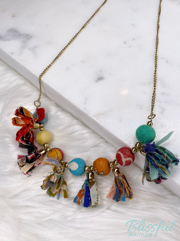 Colorful Eclectic Necklace