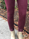 Plum Skinny Denim