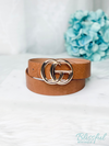Brown Croco Belt