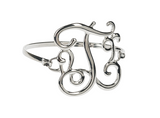 Elegant Script Initial Bracelet - Blissful Boutique