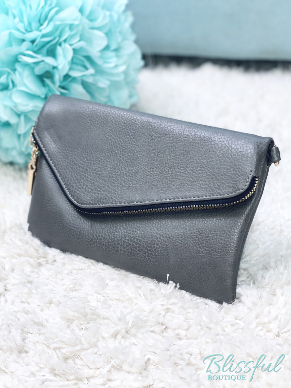 Envelope Clutch/Crossbody Bag