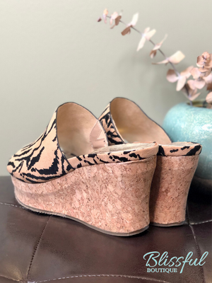 tiger cork wedge back