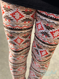 Aztec Printed Leggings