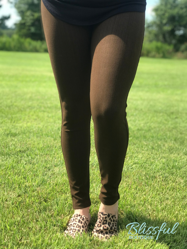 Chocolate Jeggings
