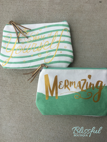 Mermazing Cosmetic Bags