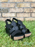 Black Strap Wedge