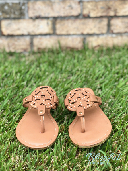 New Tan Inspired Sandals
