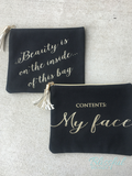 Funny Woman Cosmetic Bags