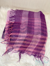 Striped & Checked Pattern Vintage Scarf