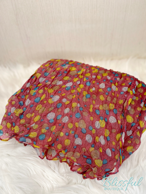 Colorful Dots Scarf