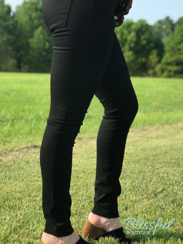 Black Sarah Skinny Denim