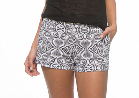 MacBeth Alexa Black & White Shorts