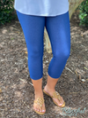 Denim Blue Capri Jeggings