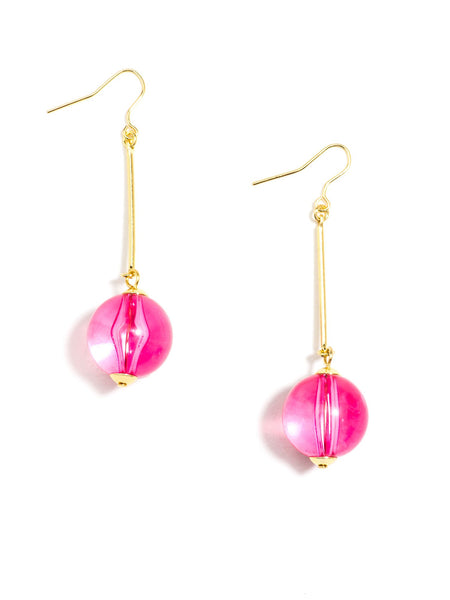 Crystal Clear Earrings - Blissful Boutique