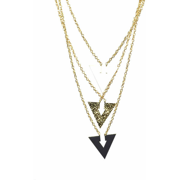 Angles Drop Necklace