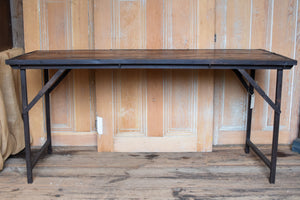 Iron Frame Wedding Table