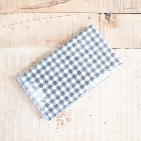 Black & White Check Napkins