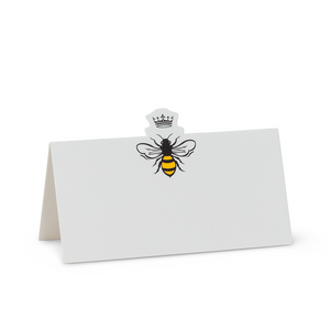 Bee and Crown Placecards
