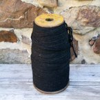 Load image into Gallery viewer, Vintage Black Spool of Yarn