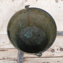 Load image into Gallery viewer, Vintage Brass Bucket