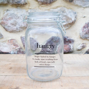 """Cheeky"" Glass Jars"