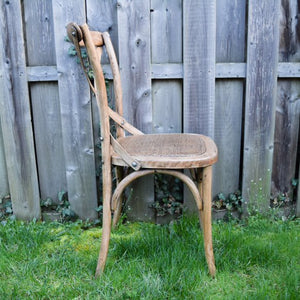 Wooden Cross Back Chair