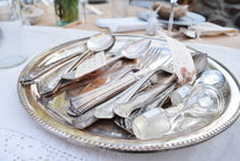 Load image into Gallery viewer, Vintage Silverplated Serving Tray