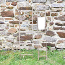 Load image into Gallery viewer, Weathered Ladder-style Hanging Rack
