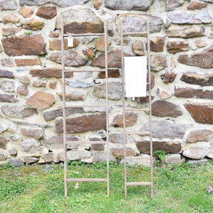 Weathered Ladder-style Hanging Rack