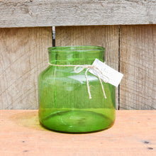 Load image into Gallery viewer, Oversized Mason Jar in Emerald