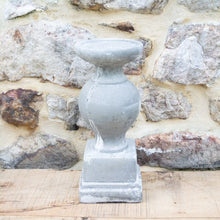 Load image into Gallery viewer, Aged Cement Candleholder