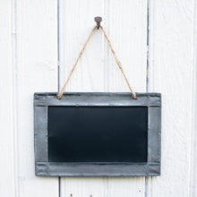 Load image into Gallery viewer, Hanging Tin Chalkboards