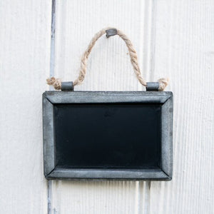 Hanging Tin Chalkboards