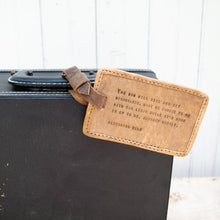 Load image into Gallery viewer, Leather Luggage Tags
