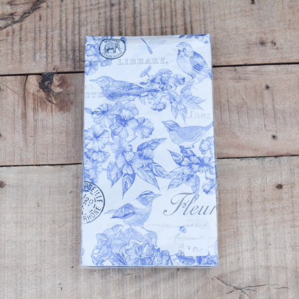 Indigo Cotton Paper Goods