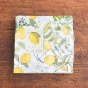 Lemon Basil Napkin Collection