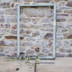 Oversized Salvaged Window Frame