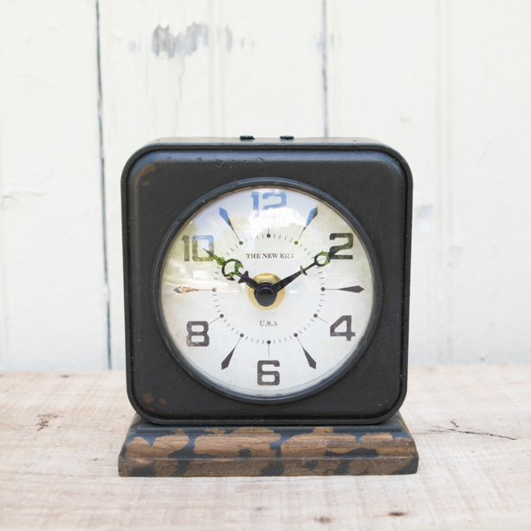 Dark Metal Clock Collection